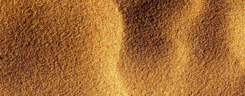 Вид песка сверху